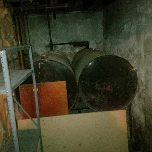 Photo of Two Home Oil Tanks
