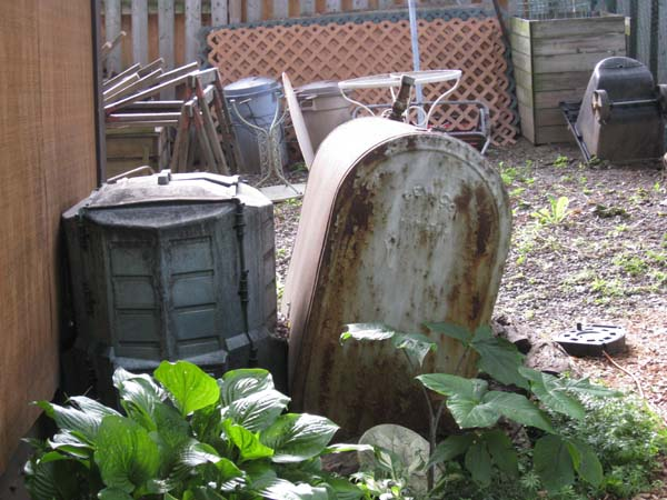 Photo of Removing an abandoned outside oil tank