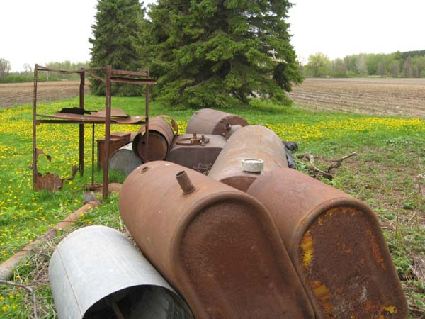 Photo of Removal of abandoned Oil Tanks from a farm