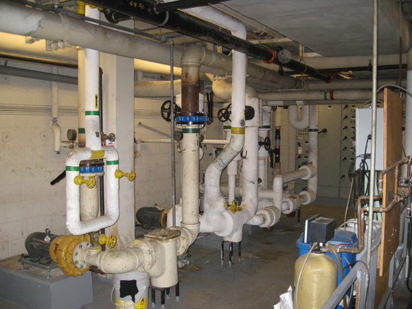 Photo of Industrial Boiler Pipe Asbestos Removal