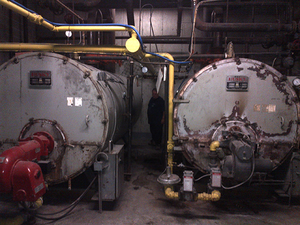 Photo of Removal of a Commercial Gas Boiler before