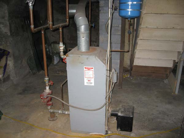 Photo of Small Residential 1 Piece Oil Boiler