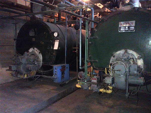 Photo of Industrial Boiler Removed in Mississauga