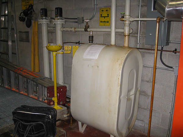 Photo of Old Commercial Fuel Tank Removal