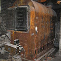 Photo of an 9,000 pound 1920s style Commercial Boiler