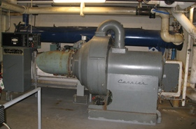 Photo of an Air Conditioner Chiller in Caledon
