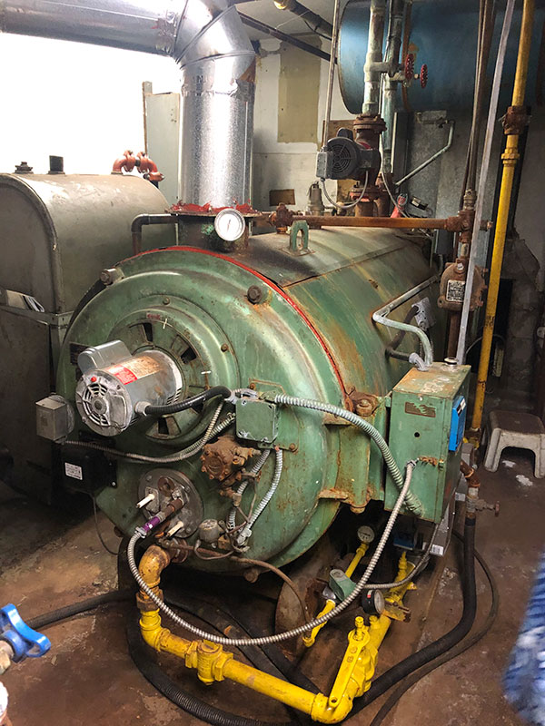 Removal of a Large Commercial Boiler in Kingston