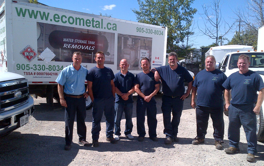 ECO Metal Recycling Team
