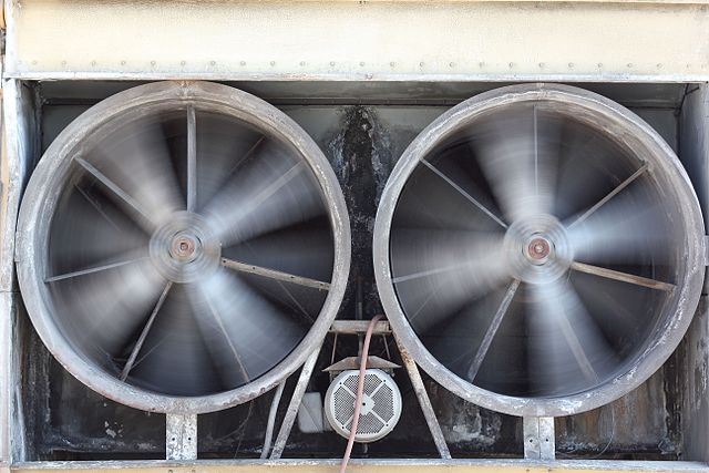 Photo of an HVAC Ventilation Exhaust in Alexandria