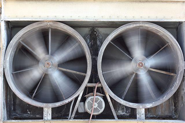 Photo of an HVAC Ventilation Exhaust in Fergus