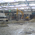 Photo of dismantling of an industrial building