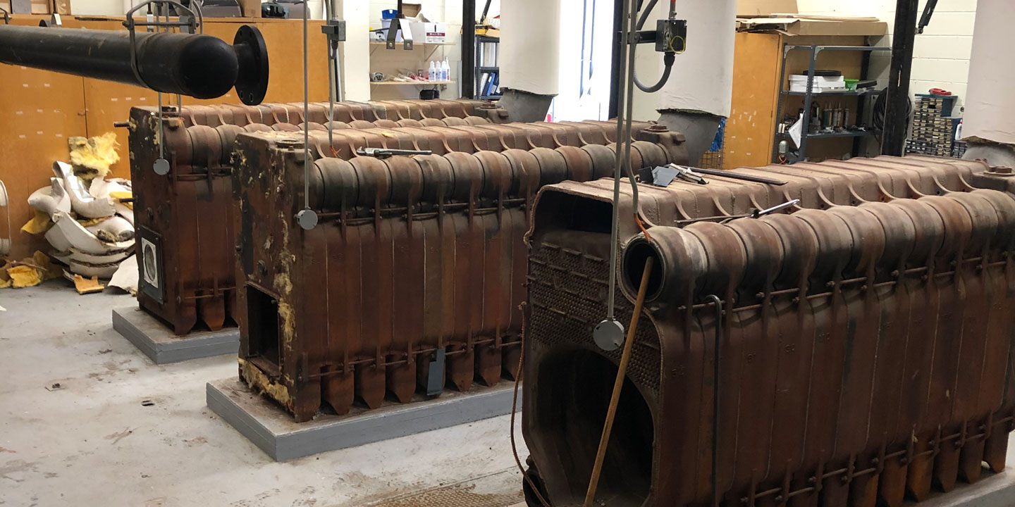 Old boilers to be removed